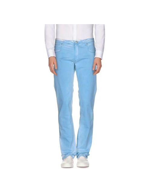 Gj Gaudi' Jeans | Мужские Голубы Повседневные Брюки