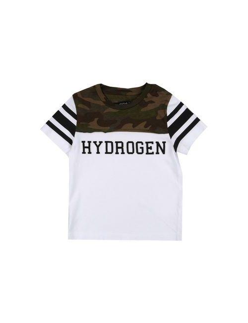 Hydrogen | Мужская Зелёная Футболка