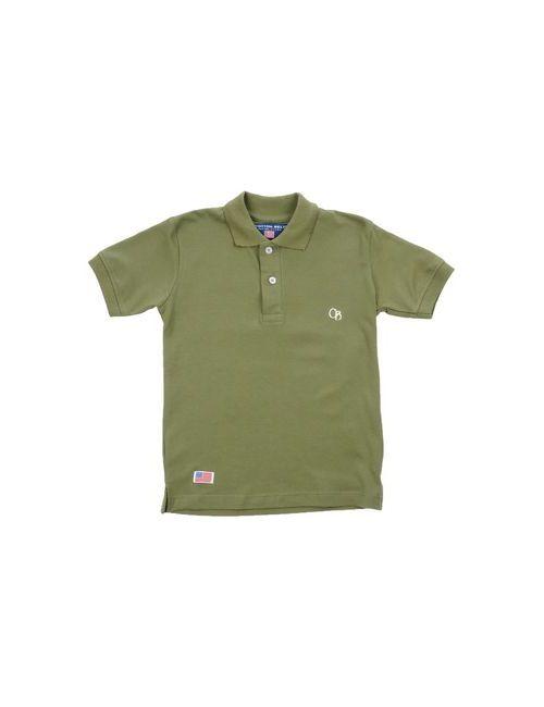 Cotton Belt | Мужское Зелёное Поло