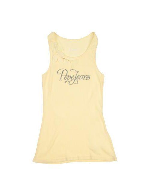 Pepe Jeans | Женская Жёлтая Футболка