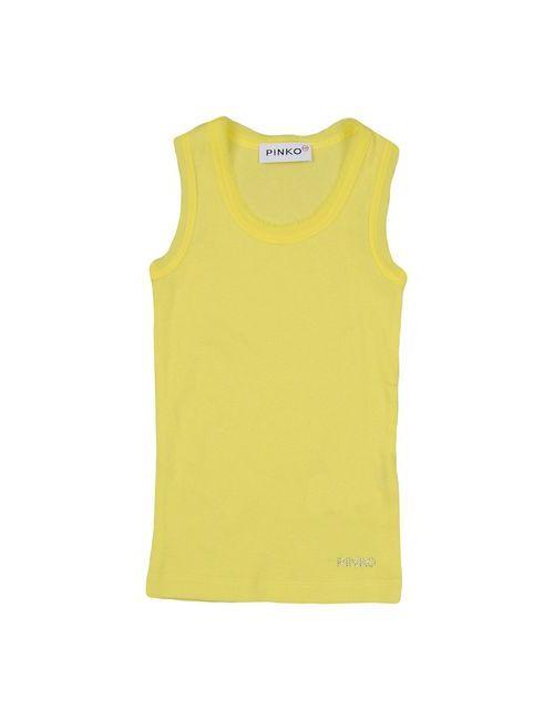 Pinko Up | Женская Жёлтая Футболка