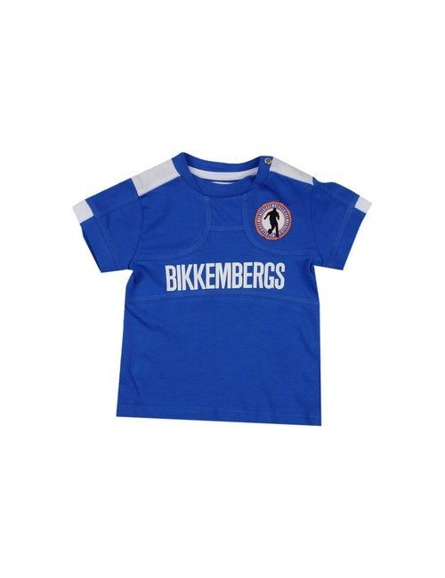 Bikkembergs | Мужская Синяя Футболка