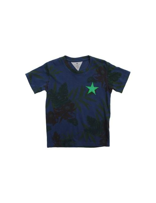 Macchia J | Мужская Синяя Футболка