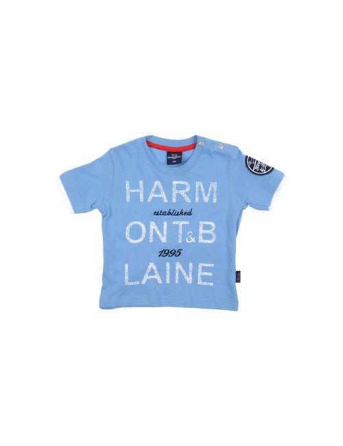 Harmont&Blaine | Мужская Синяя Футболка