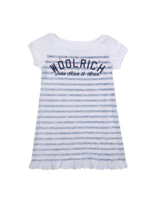Woolrich | Женская Белая Футболка
