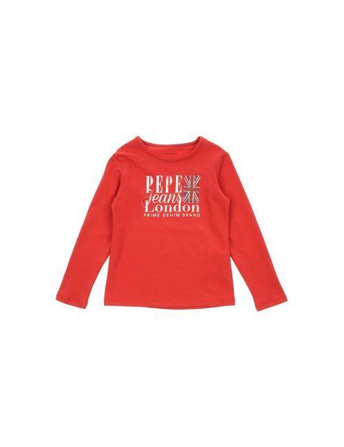Pepe Jeans | Женская Красная Футболка