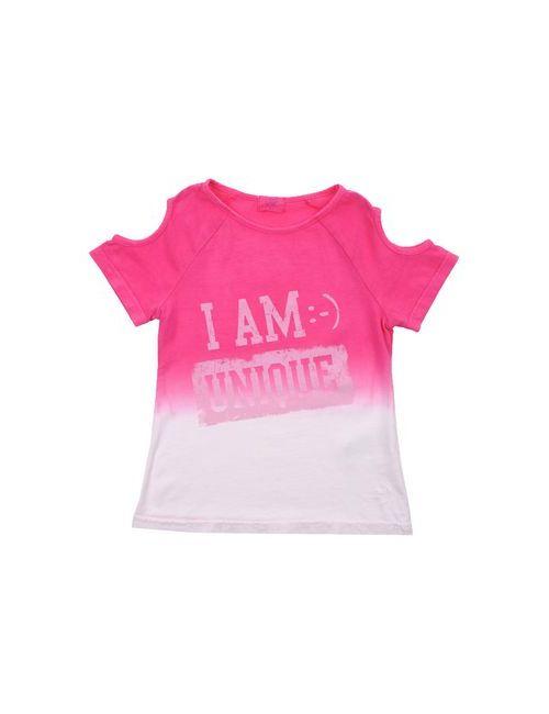 I AM :-) WHAT (-: I AM | Женская Фуксия Футболка