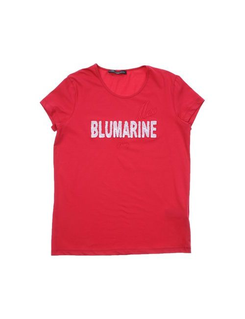 Miss Blumarine Jeans | Женская Фиолетовая Футболка