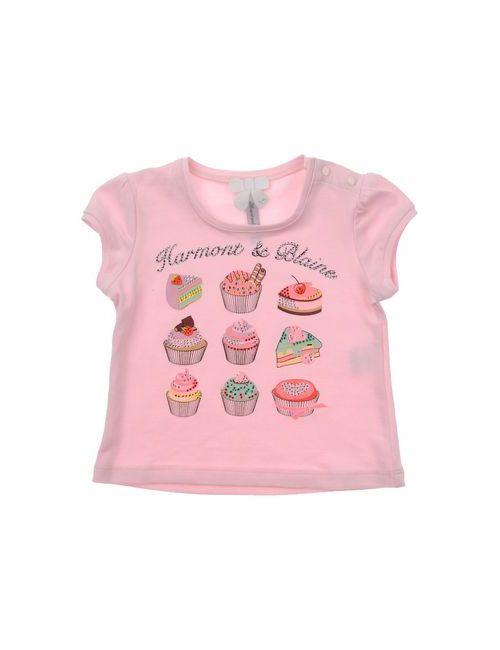 Harmont&Blaine | Женская Розовая Футболка