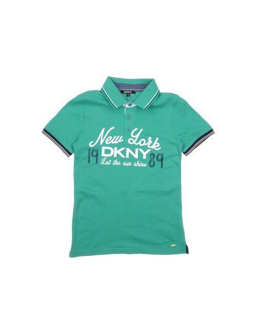 DKNY | Мужское Зелёное Поло