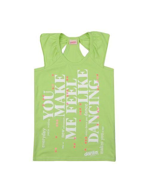 Dimensione Danza Sisters | Женская Зелёная Футболка