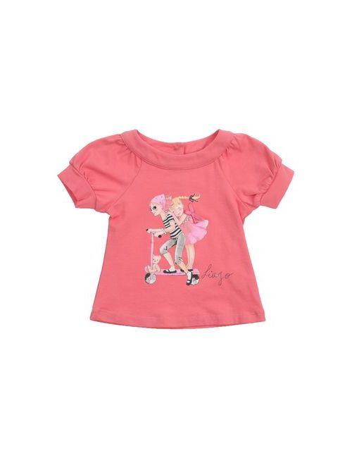 Liu •Jo Baby | Женская Розовая Футболка