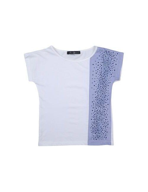 Miss Blumarine Jeans | Женская Белая Футболка