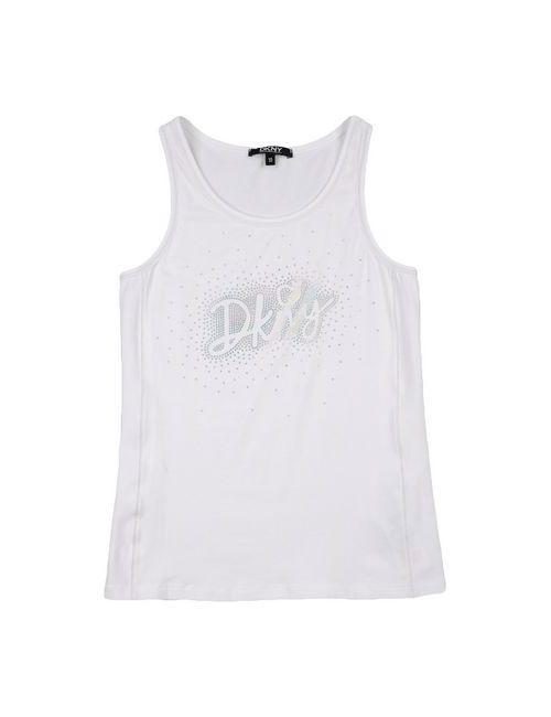DKNY | Женская Белая Футболка