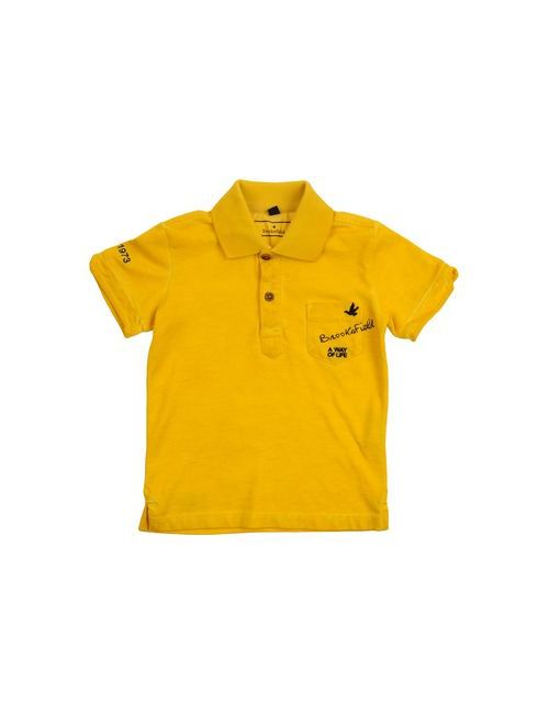 Brooksfield | Мужское Жёлтое Поло
