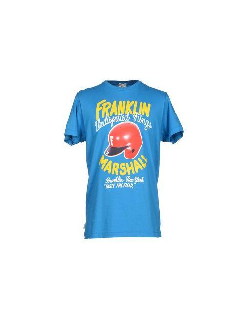 Franklin & Marshall | Мужская Лазурная Футболка
