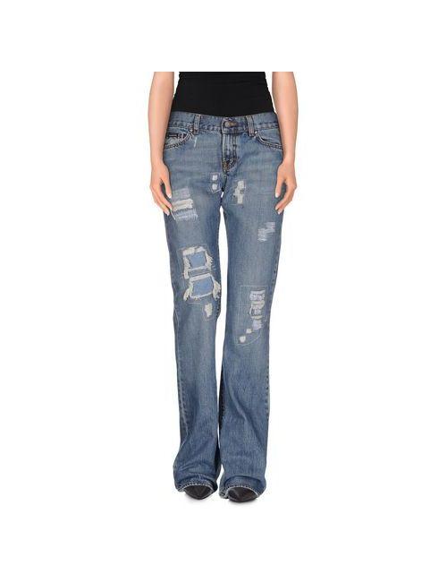 Calvin Klein Jeans | Женские Синие Джинсовые Брюки