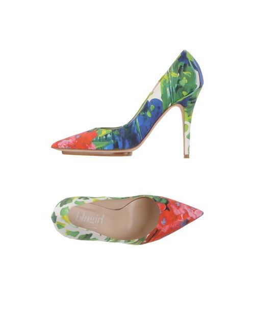 Blugirl Blumarine | Женские Зелёные Туфли