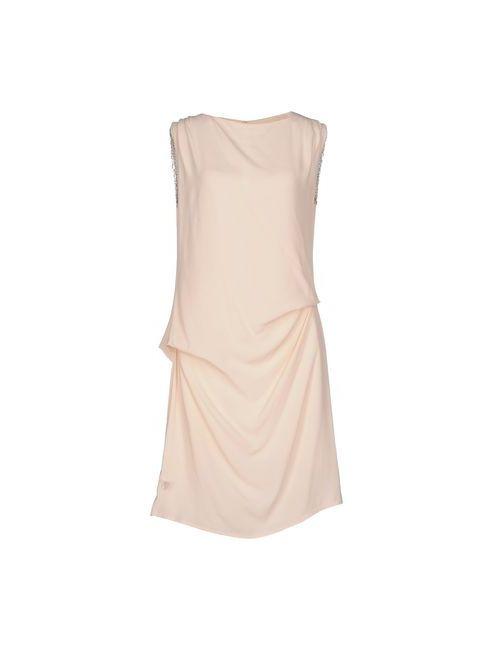 AAKO   Женское Розовое Короткое Платье