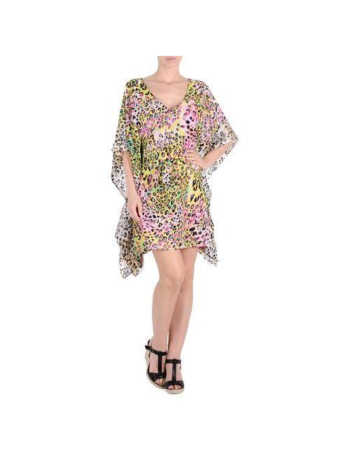 Blumarine Beachwear | Женское Фуксия Пляжное Платье