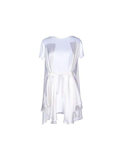 Paolo Errico | Женское Белое Короткое Платье