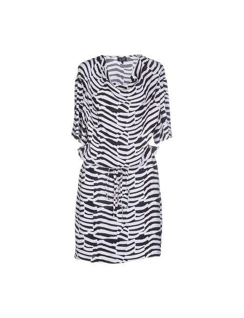 ARMANI JEANS | Женское Белое Платье До Колена