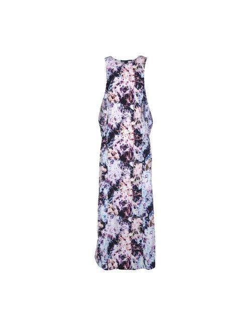 Theyskens' Theory | Женское Фиолетовое Длинное Платье