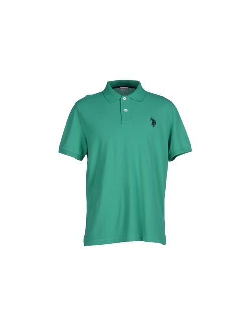U.S. Polo Assn. | Мужское Зелёное Поло