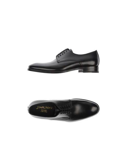 J.Wilton | Мужская Черный Обувь На Шнурках