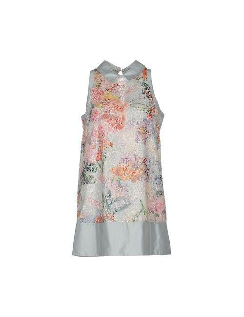 Adele Fado | Женское Голубое Короткое Платье