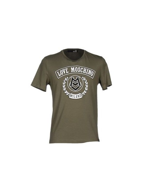 Love Moschino | Мужская Зелёная Футболка