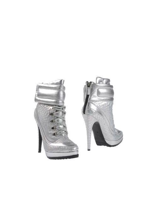 Blumarine | Женские Серебристые Полусапоги И Высокие Ботинки