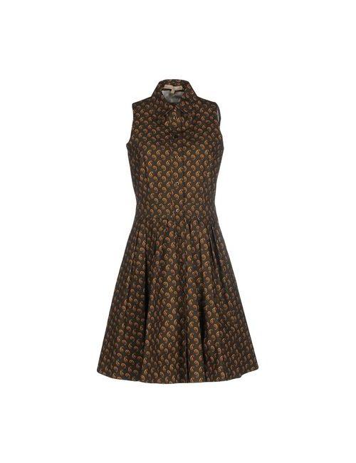 Michael Kors | Женское Зелёное Короткое Платье