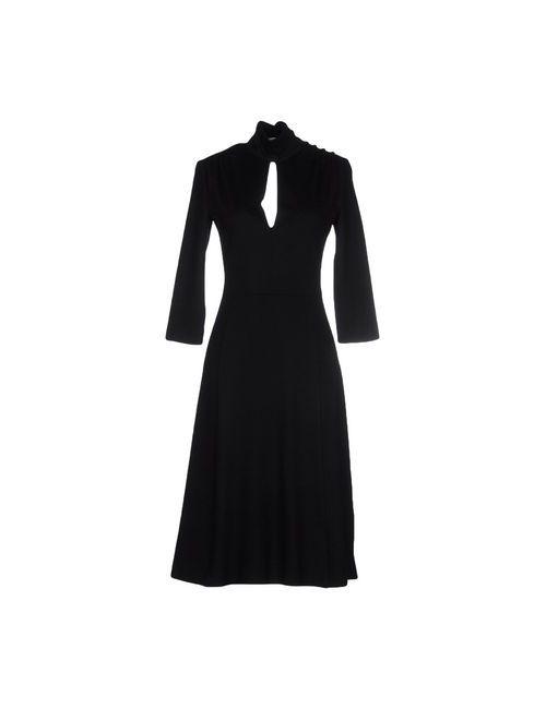 Viktor & Rolf | Женское Чёрное Платье До Колена