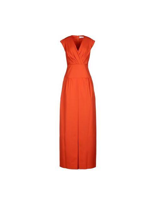 Viktor & Rolf | Женское Оранжевое Длинное Платье