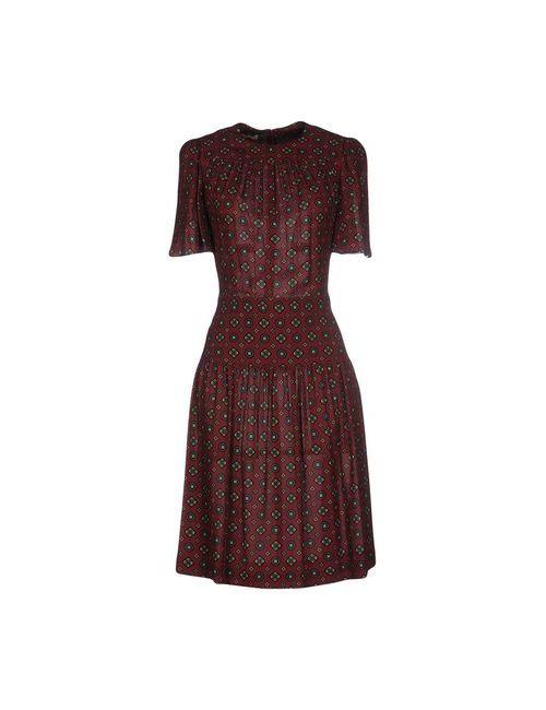 Michael Kors | Женское Коричневое Короткое Платье