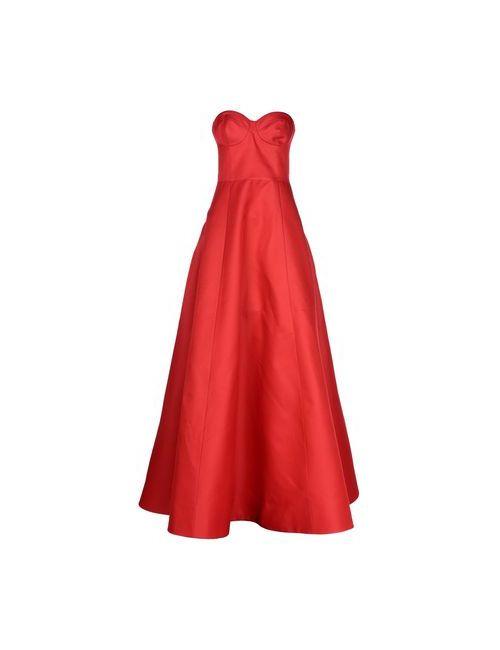 Michael Kors | Женское Красное Длинное Платье