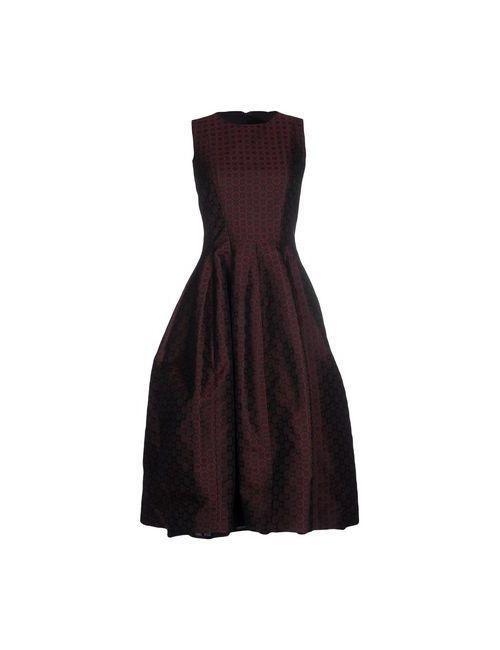 Michael Kors | Женское Синее Платье До Колена