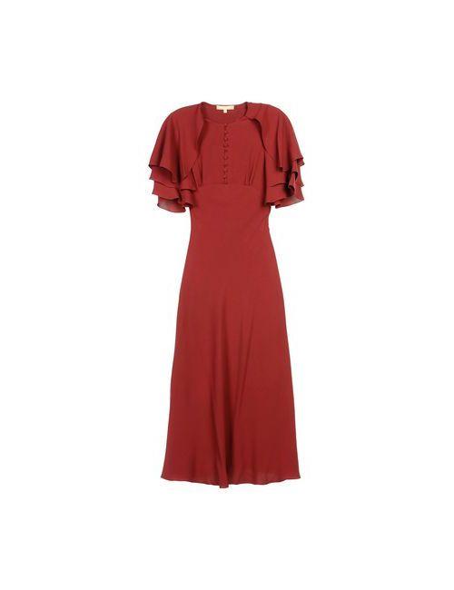 Michael Kors | Женское Коричневое Длинное Платье
