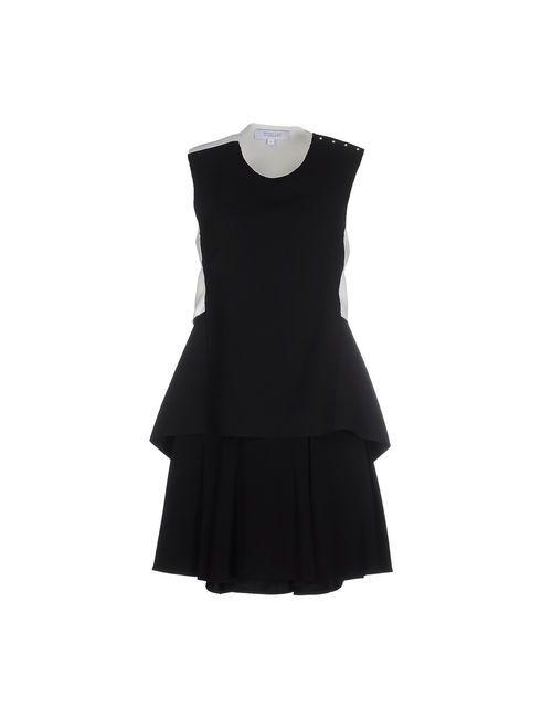 Derek Lam 10 Crosby | Женское Чёрное Короткое Платье