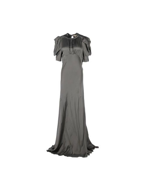 Michael Kors   Женское Серое Длинное Платье