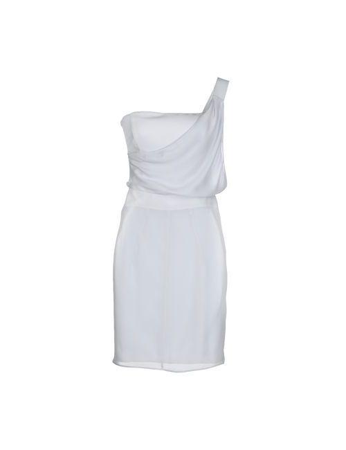 Emporio Armani | Женское Серое Короткое Платье