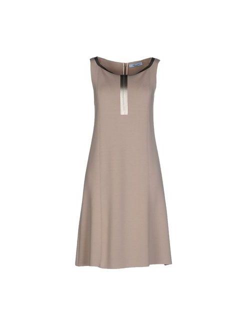 Blumarine | Женское Песочное Короткое Платье