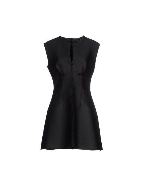Ter Et Bantine | Женское Чёрное Короткое Платье