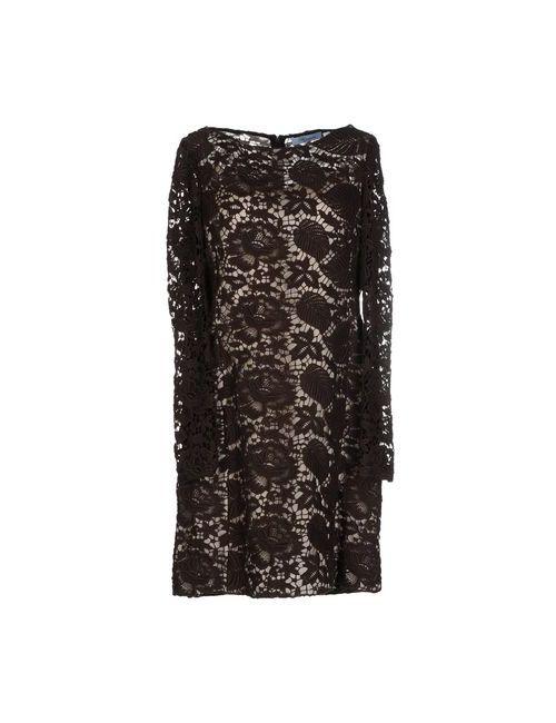Blumarine | Женское Коричневое Короткое Платье