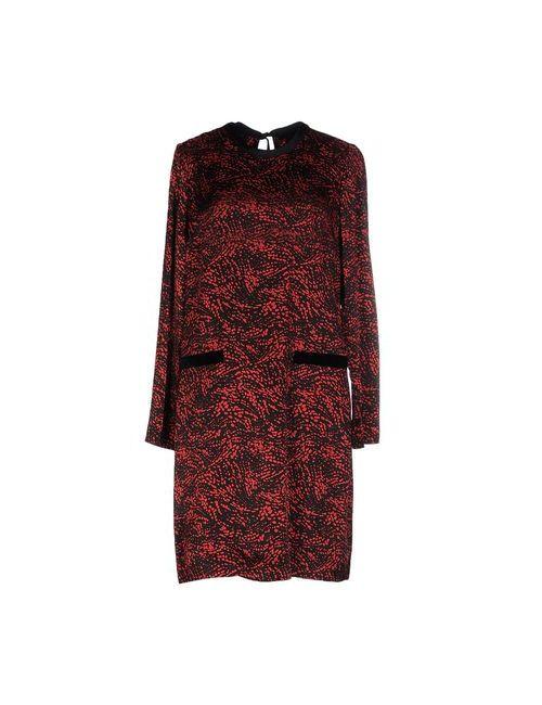 Marc Jacobs | Женское Красное Короткое Платье