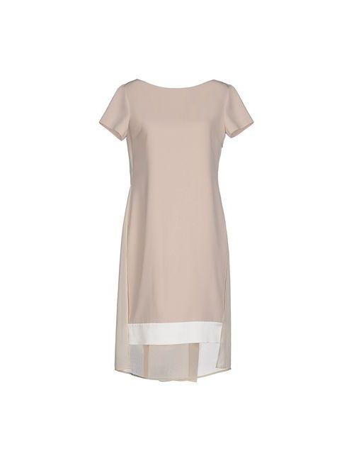 Blumarine | Женское Серое Короткое Платье