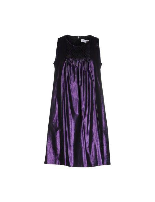 Mauro Grifoni | Женское Фиолетовое Короткое Платье