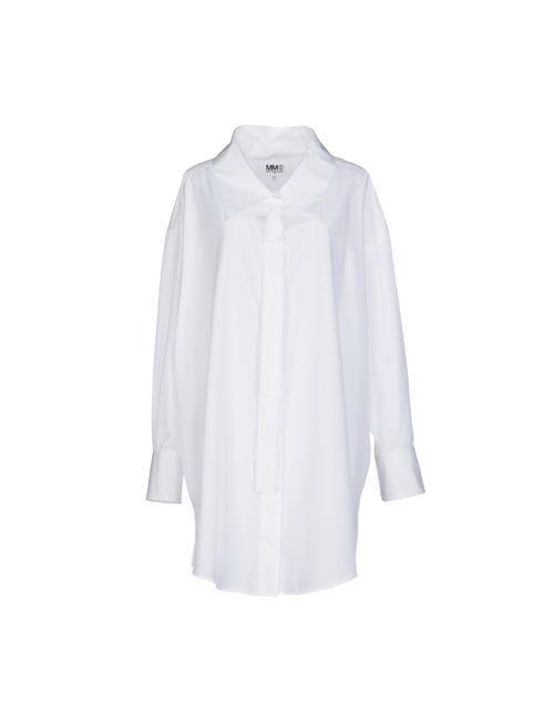 MM6 by Maison Margiela | Женское Белое Короткое Платье