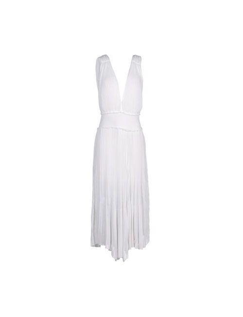 Blumarine   Женское Белое Длинное Платье